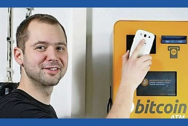 First Bitcoin ATM deployed