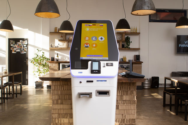 GENERAL BYTES launches the BATMFour Bitcoin ATM.