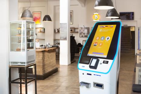 bitcoin bankomatas filadelfijoje